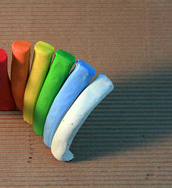 platilina de colores